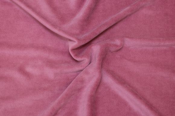 Gammel rosa strækvelour