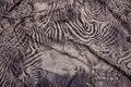 Let polyesterjersey med zebratryk
