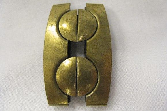 Metalspænde 6cm