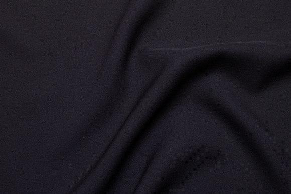 Ministræk polyester i sort