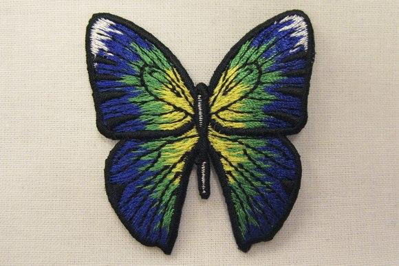 Sommerfugl strygemærke 4,5x5cm