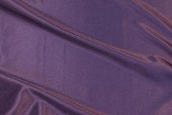 Stræk-satin i støv lilla
