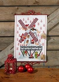 Julepakkekalender med jul i den gamle mølle