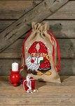 90-8287. Christmas sack with singing santas.