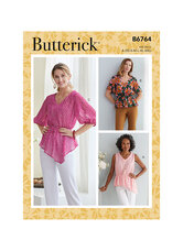 Toppe. Butterick 6764.