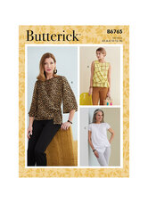 Toppe. Butterick 6765.