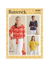 Toppe. Butterick 6766.