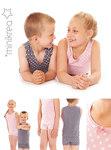 Sødt og enkelt undertøj til drenge og piger. Undertrøjer, t-shirts, boxerhorts og hipsters.
