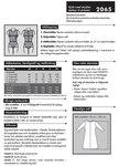 Kjole med skulderstykker