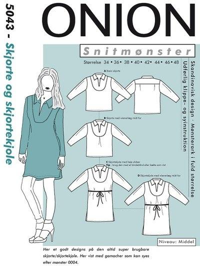 Skjorte og skjortekjole