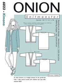 Kimono. Onion 6023.
