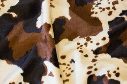 Brunbroget imiteret kopels i beige og brun