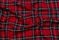 Klantern i rød, 12x12 cm tern