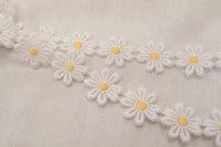 Marguerit bånd, 2,5 cm blomst
