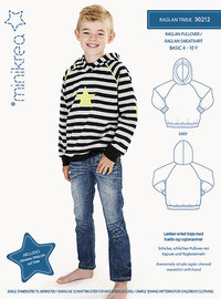 Minikrea 30212 Raglan trøje.  30212.