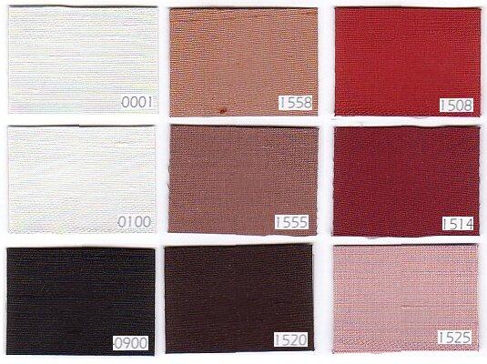 Thaisilke i 100% dupionsilke sort, hvide og røde farver
