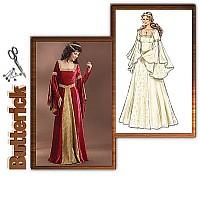 Kostume kjole. Butterick 4571.