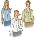 Butterick 5538. Bluse.