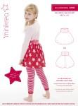 Sjov lille nederdel med balloneffekt og bred ribtalje.