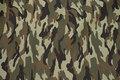 Camouflagestof til bukser, jakker m.m. i polyester og bomuld.