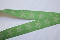 Elastik - med stjerner 3cm bred