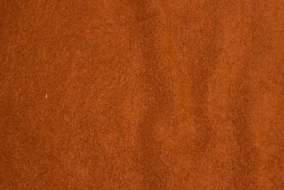 Filtet uld i rustfarvet