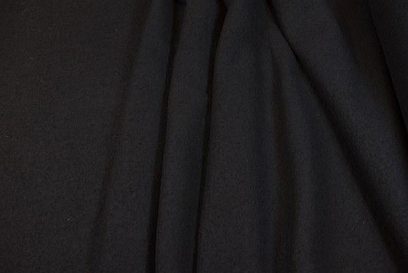 Filtet uld i sort