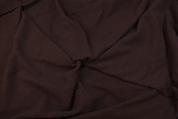 Frakkevelour i mørkebrun