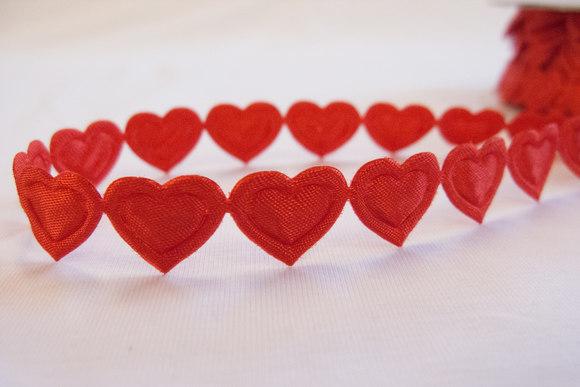 Hjertebånd rød 1,3cm