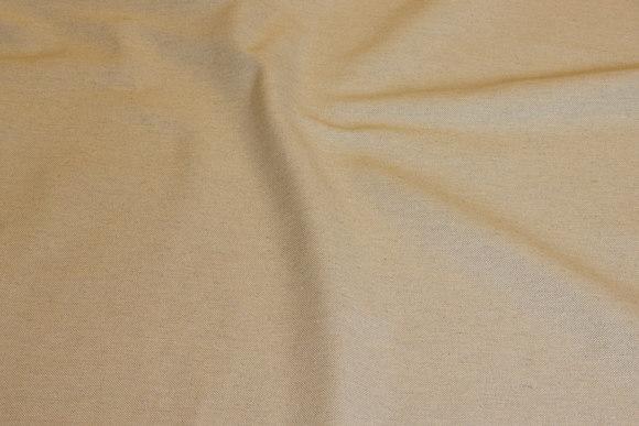 Hør-look i bomuld og polyester