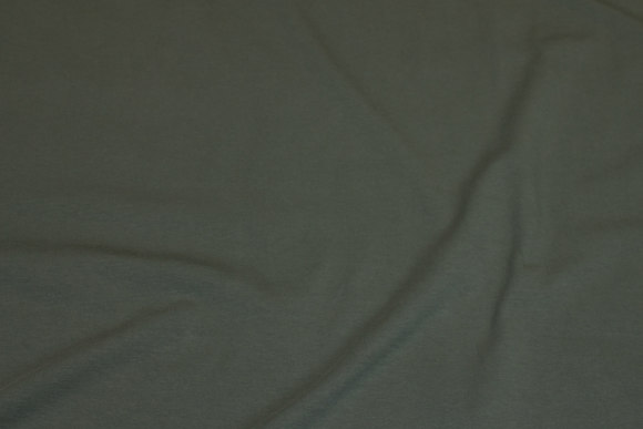 Mørk armygrøn bomuldsjersey