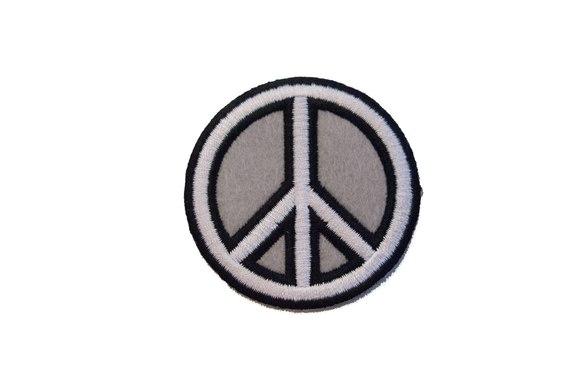 Peace tegn Ø6cm