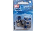 Pyntenitter, blå, 20 stk.  8 mm