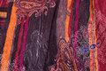Dobbeltvævet polyester med plissé-overflade