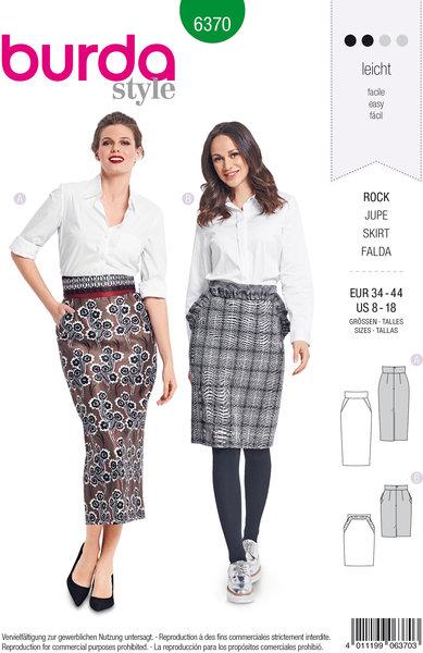 Knælang og lang nederdel i klassisk snit