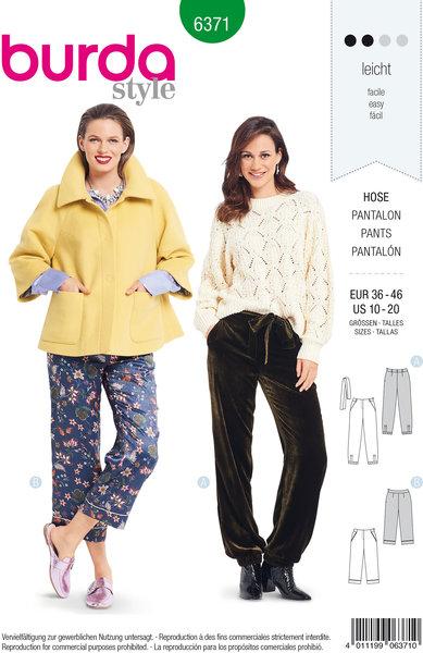 Bukser i pyjamas-stil