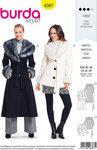 Burda 6387. Frakker og jakker med pelskraver.