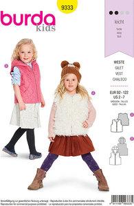 Veste i smarte designs til børn. Burda 9333.