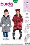 Burda 9334. Frakker og jakker til børn.