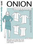 Onion 2072. Kjoler med draperingsstykke.