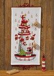 Permin 34-7255. Julepakkekalender med Nissefyrtårnet.