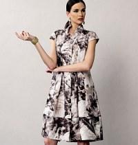 Kjole - Marcy Tilton. Vogue 8876.