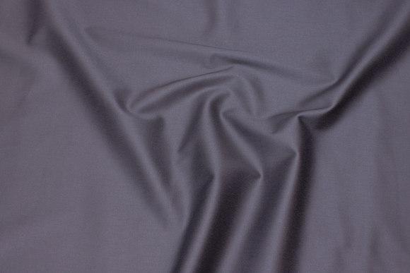 Bomuld stræksatin grå