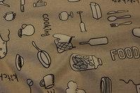 Coated textildug med køkkenting