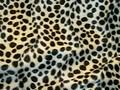 Dalmatinerpels med sorte prikker.