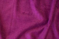 Fuchsia-farvet, blød polyester fløjl
