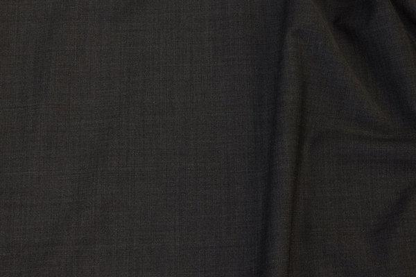 Helt let og luftig koksgrå uld og polyester med stretch