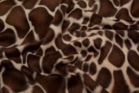 Imiteret girafpels i flot, naturtro kvalitet