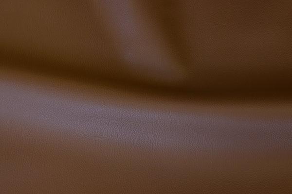 Imiteret skind i mellembrun