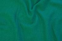 Jadegrøn twillsvævet møbelstof i uld